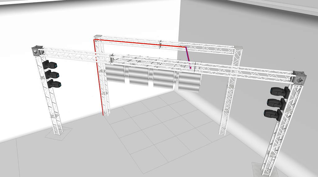 stage in SketchUp-1